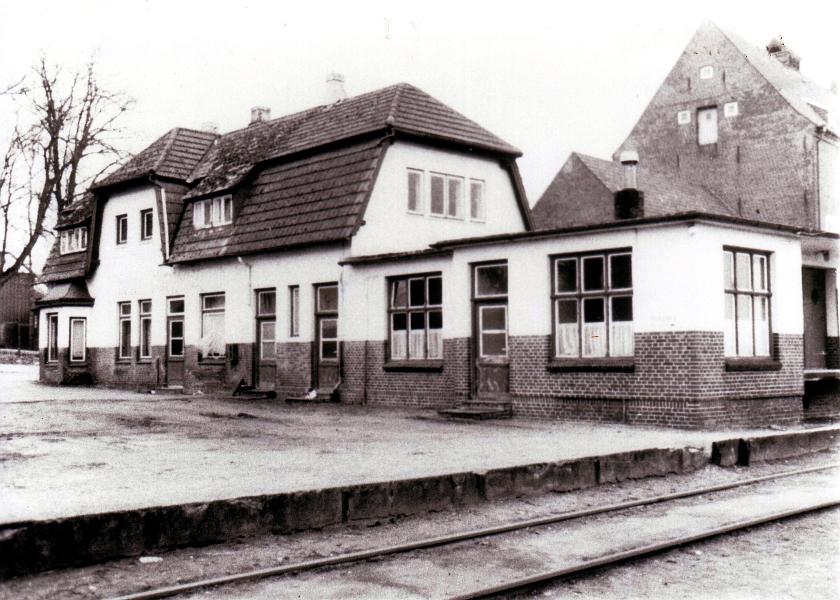 Kappeln - Bahnhof Schleswiger Kreisbahn - Foto: Stadtarchiv Kappeln/Eckhard Schmidt