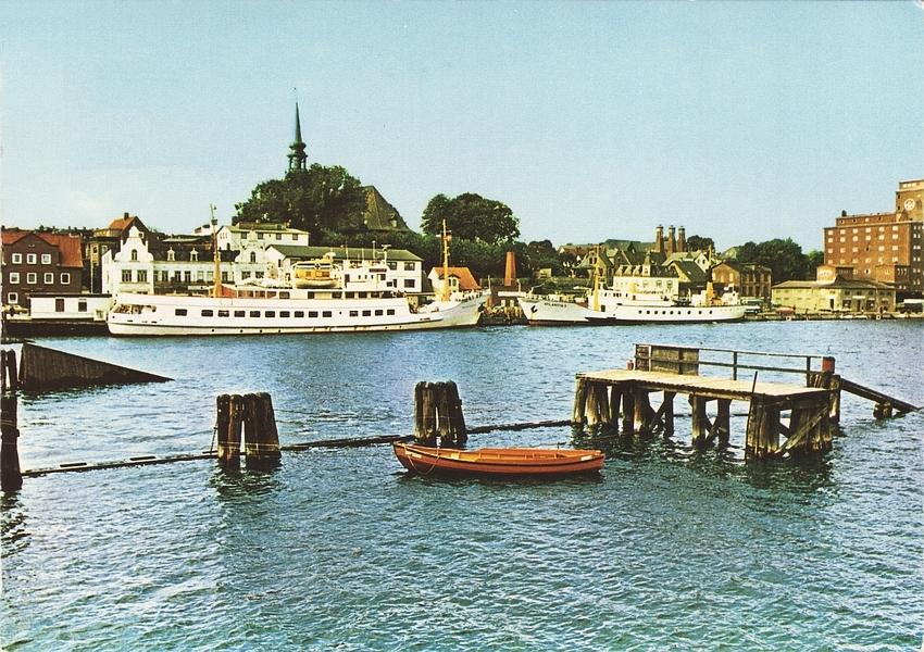 Kappeln - SEUTE DEERN und ATLANTIS II (70er-Jahre)