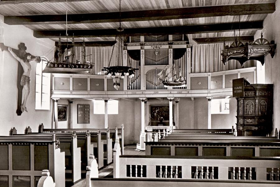 Schifferkirche in Arnis