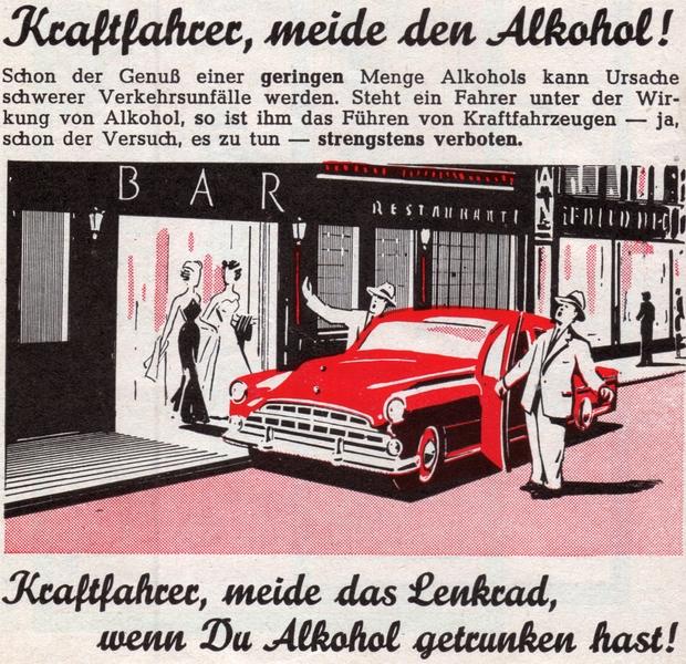 Lehrbuch für Kraftfahrer - Illustration (1953)