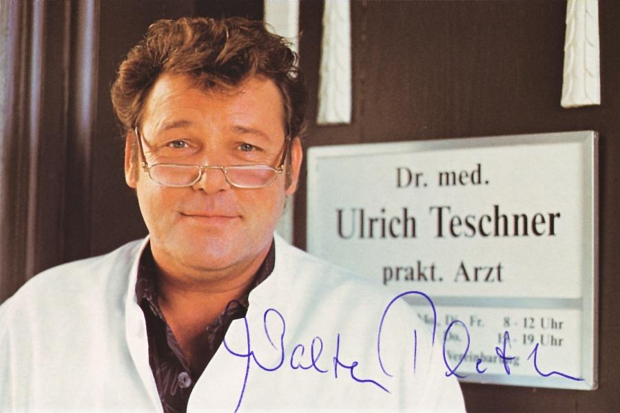 Walter Plate als Landarzt Dr. Teschner