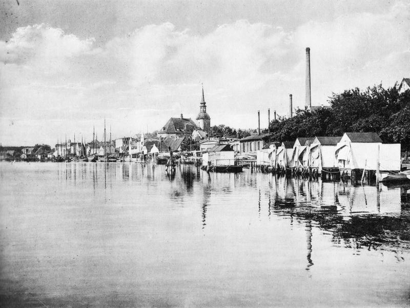 Kappeln - Badeanstalt von Johannes Rieper (um 1910)