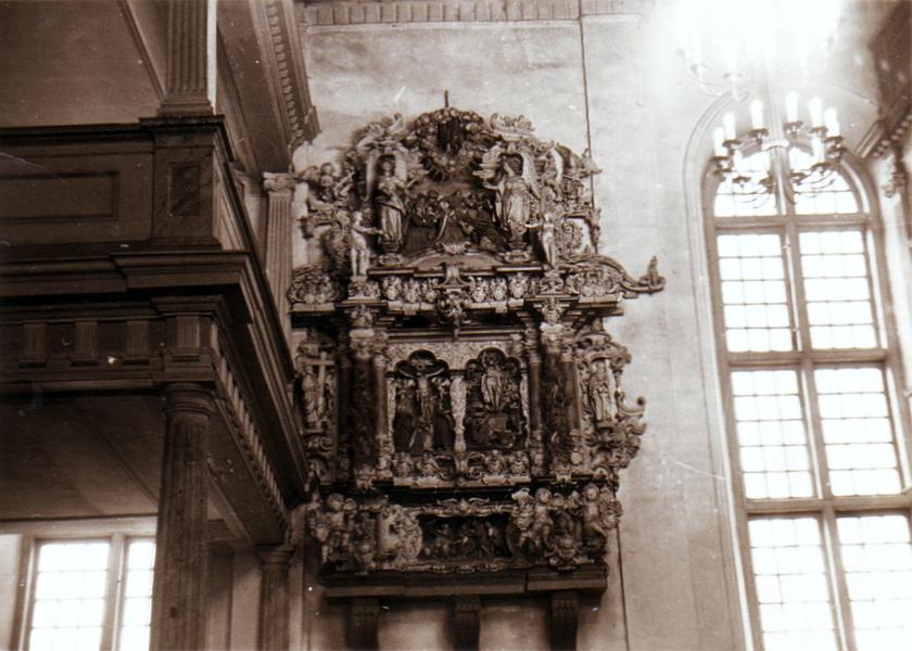Kappeln - St. Nikolai-Kirche - Foto: Elfriede Weber (1955)