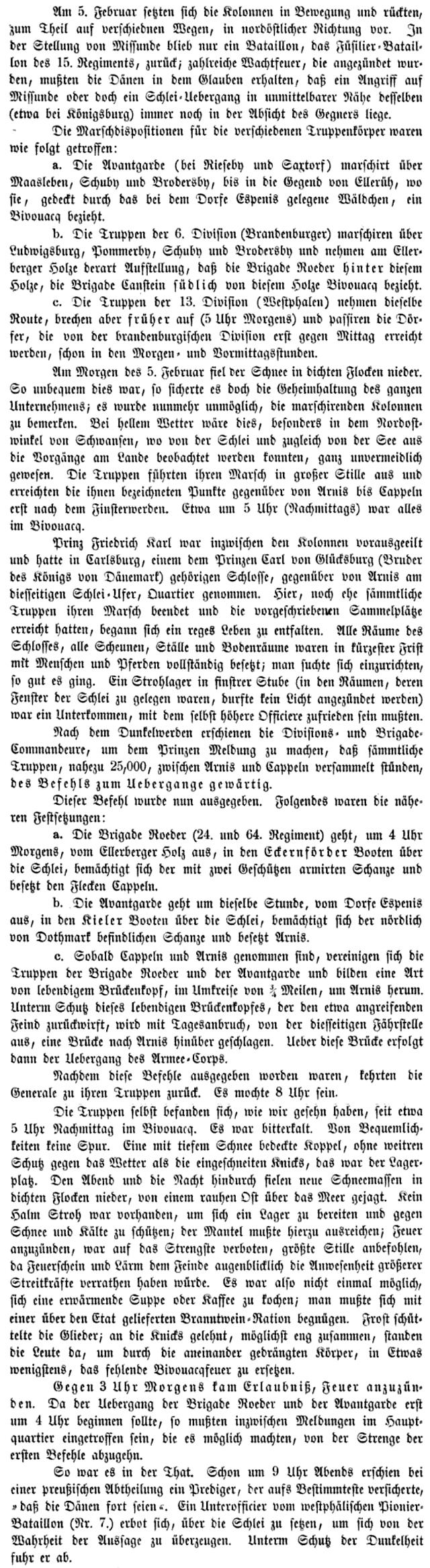 Fontane - Der Schleswig-Holsteinische Krieg 1864 - Auszug