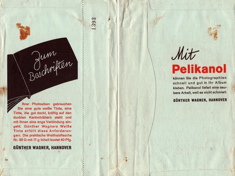 Pelikanol-Werbung (50er-Jahre)