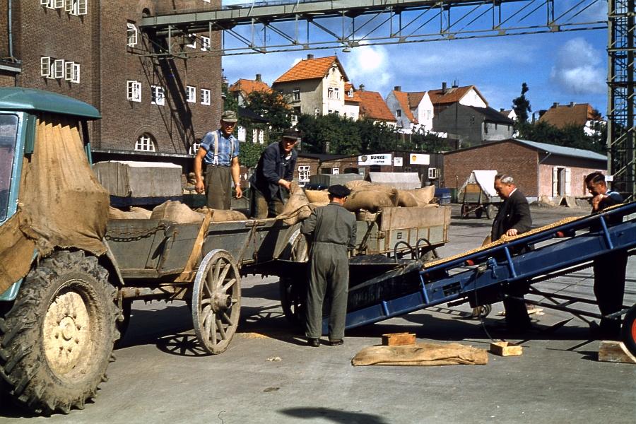 Kappeln - Nordhafen - Foto: Fritz Reinhardt (1957/58)