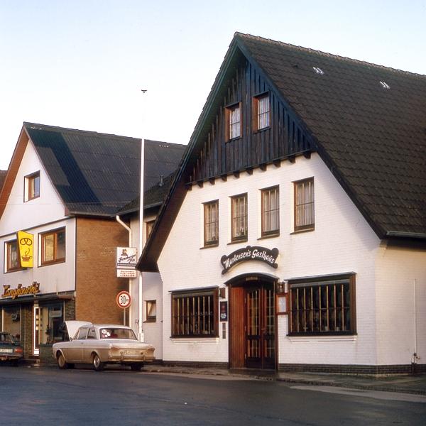 Maasholm - Martensen's Gasthaus - Foto: Fritz Reinhardt (Januar 1975)