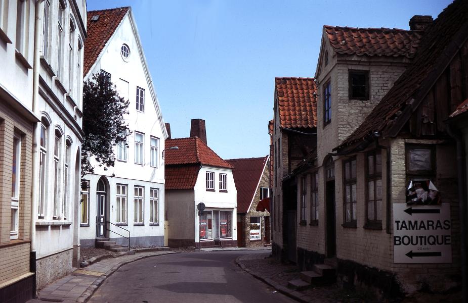 Blick von der Schmiedestraße in den Dehnthof - Foto: Fritz Reinhardt (1974)