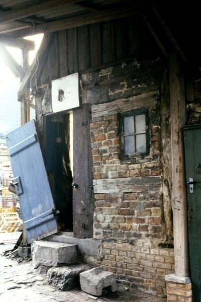 Dehnthof 1 (Durchfahrt) - Foto: Fritz Reinhardt (Herbst 1979)