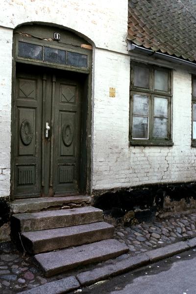 Dehnthof 1 - Foto: Fritz Reinhardt (Winter 1980)
