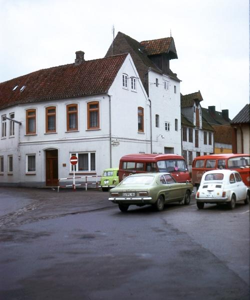 Schmiedestraße - Rückseite - Foto: Fritz Reinhardt (1975)