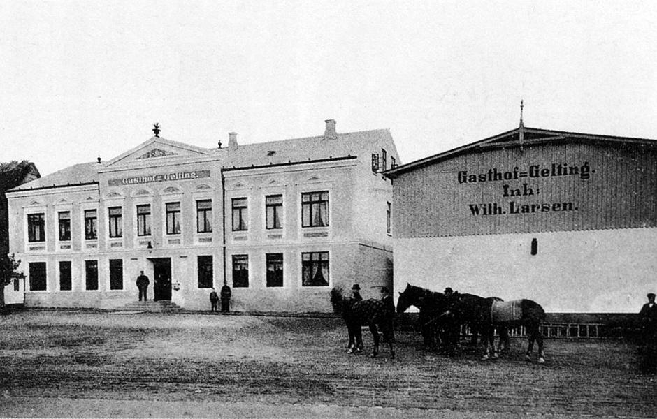 Gasthof Gelting - 1910er-Jahre