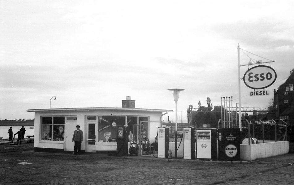 Kappeln - Esso-Tankstelle Prätorius