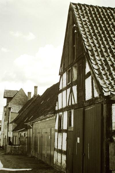 Schmiedestraße (Rückseite) - Foto: Heino Küster (1968)