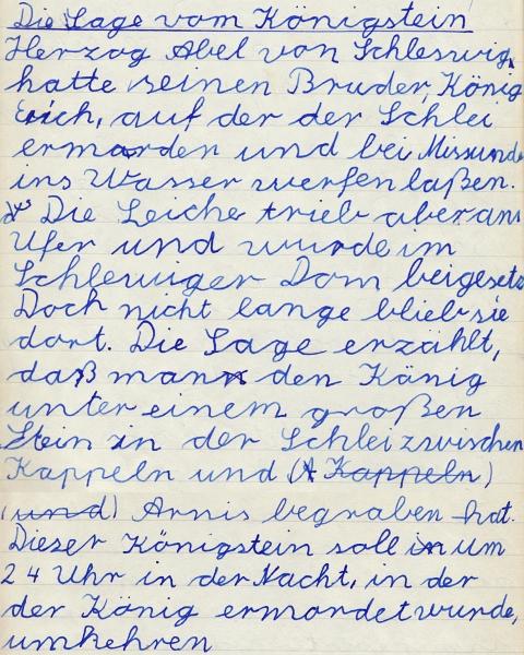 Heimatkundebuch 1958 - Königstein