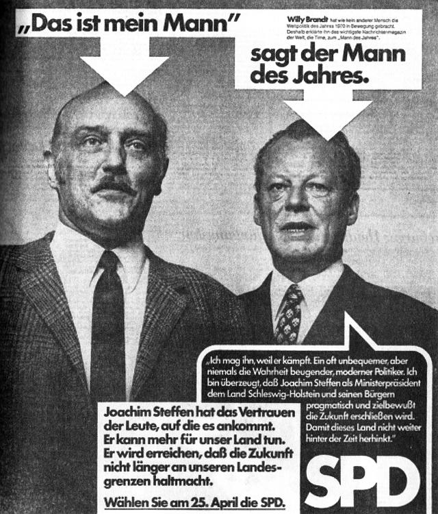 Zeitungsanzeige 1971