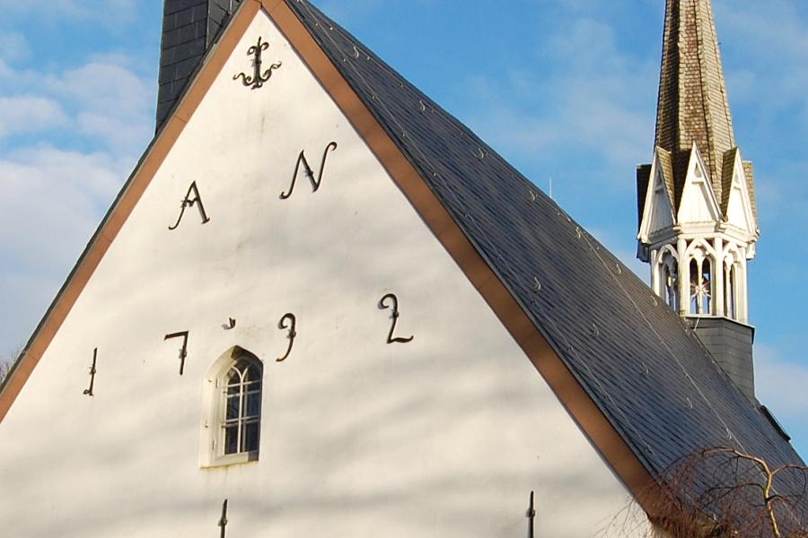 Kappuzzle® 271 - St. Johannes Kirche Toestrup - Foto: Ulli Erichsen (2014)