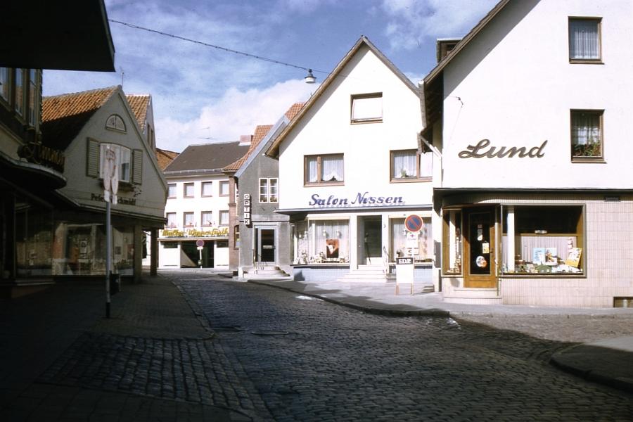 Kappeln - Schmiedestraße - Foto: Fritz Reinhardt (1969)