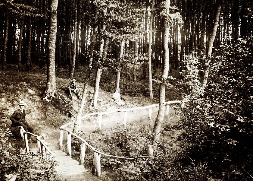Hüholz - Teufelsbrücke (um 1900)