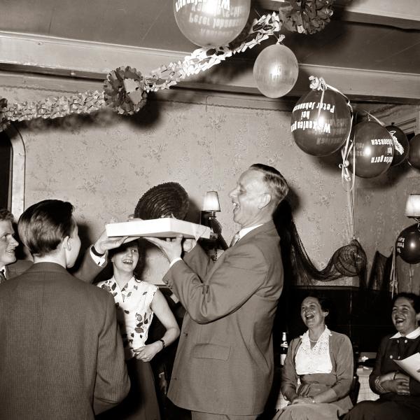 Klaus-Harms-Schule - Abschlussfeier UII E - Foto: Konrad Reinhardt (1958)