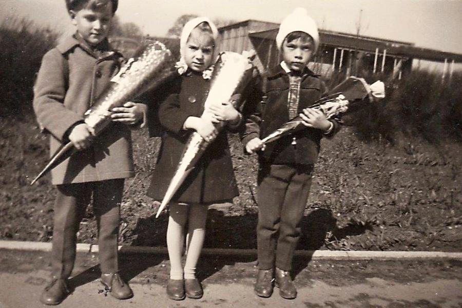 Loitmark - Einschulung - Ostern 1960