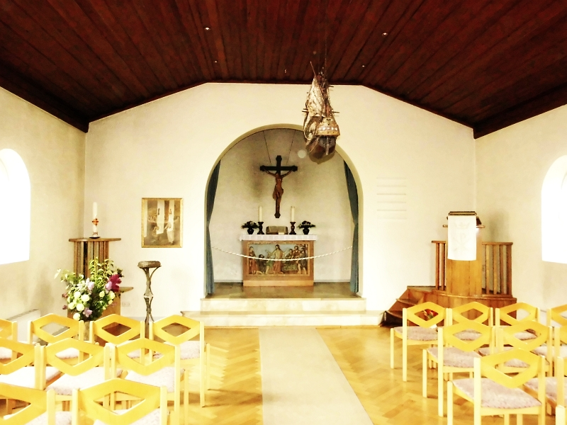 St. Petri-Kirche Maasholm - Foto: Michaela Bielke (25.05.2015)