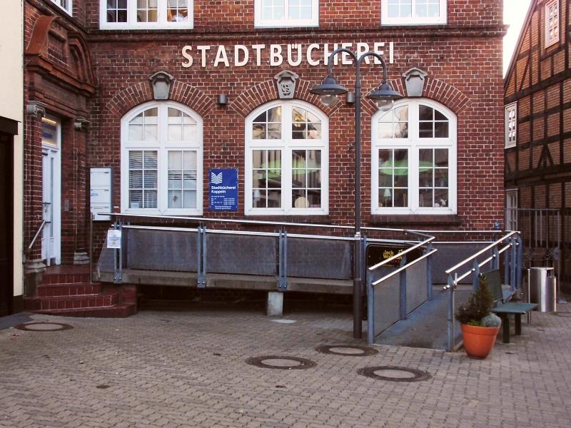 Kappeln - Stadtbücherei - Foto: Michaela Bielke (30.10.2016)