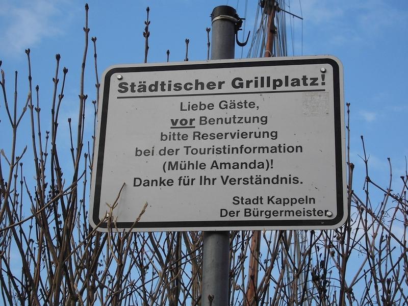 Kappeln - Grillplatz - Foto: Michaela Fiering (19.02.2018)