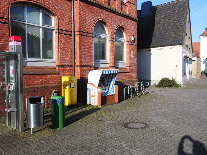 Strandkorb in der Poststraße - Foto: Michaela Fiering (23.05.2019)