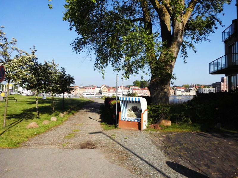Strandkorb in Ellenberg - Foto: Michaela Fiering (23.05.2019)
