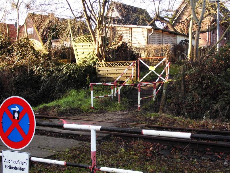 Drehkreuz am Südhafen - Foto: Michaela Fiering (22.01.2020)