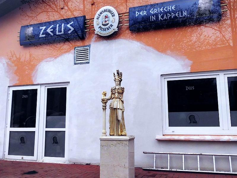 Restaurant Zeus - Pallas Athene - Foto: Michaela Fiering (13.05.2021)