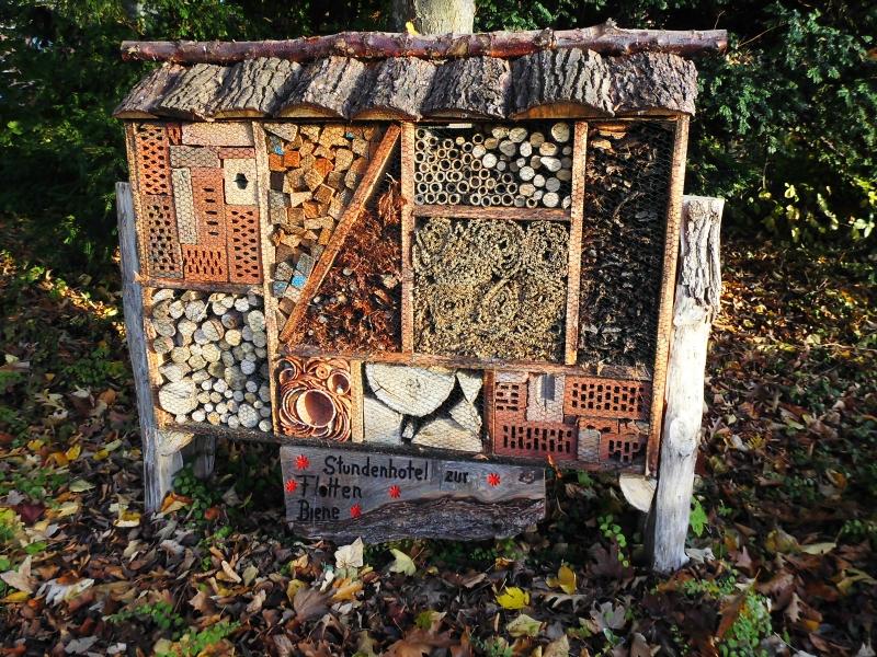 Kappeln - Insektenhotel - Foto: Michaela Bielke (30.10.2016)