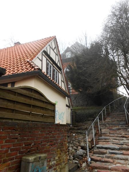 Kappeln - Kirchtreppe - Foto: Maren Sievers (2014)