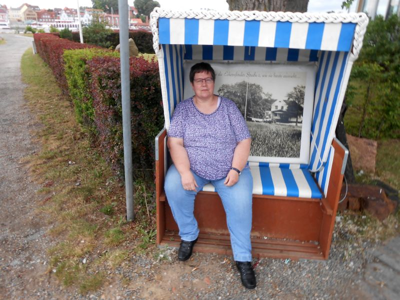 Strandkorb in Ellenberg - Foto: Maren Sievers (05.07.2019)