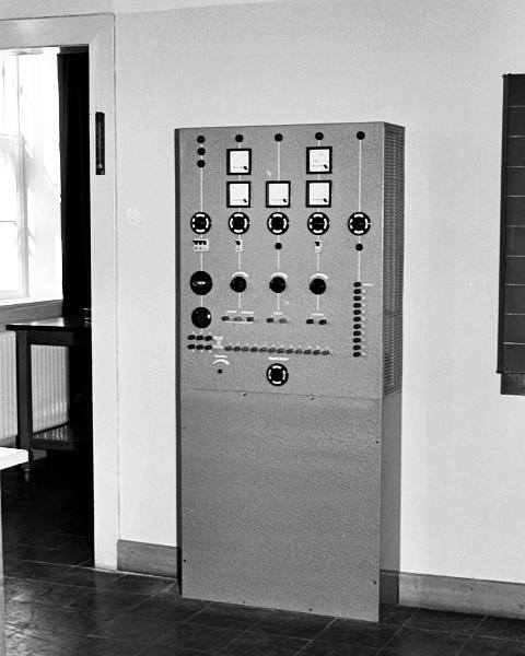 KHS - Physikraum - Foto: Manfred Rakoschek (1967)