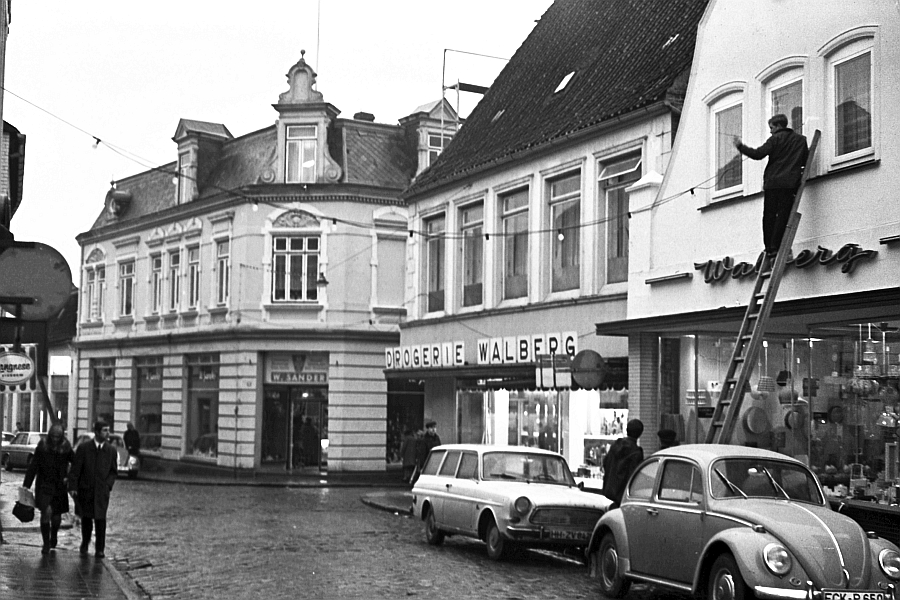 Kappeln -  Schmiedestraße - Foto: Manfred Rakoschek (1968)