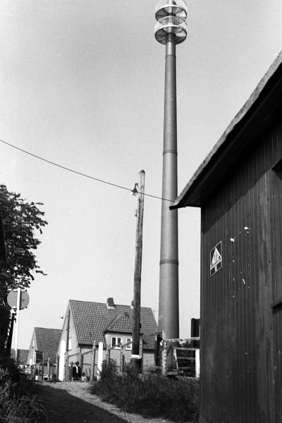 Funkmast - Foto: M. Rakoschek (1966)