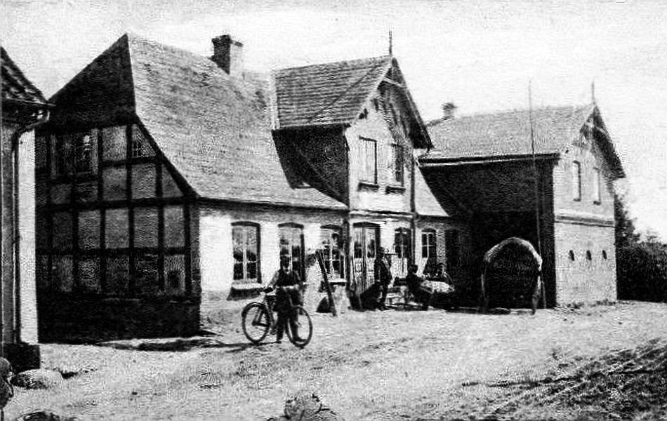 Gastwirtschaft und Kaufhaus M. Nielsen, Kopperby (ca. 1906)