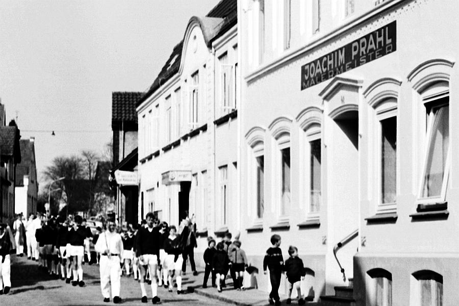 Kappeln - Mühlenstraße 41/43 - 1. Mai 1969