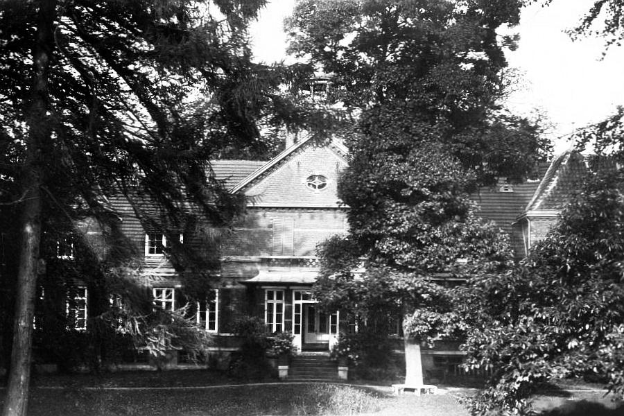 Gut Oehe - Herrenhaus (Rückansicht)