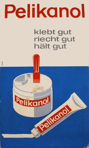 Pelikanol-Werbung (50er-/60er-Jahre)