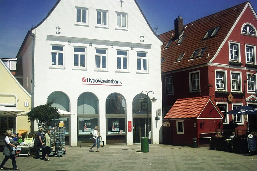 Kappeln - Rathausmarkt - Foto: Dirk H. Rahn (2012)