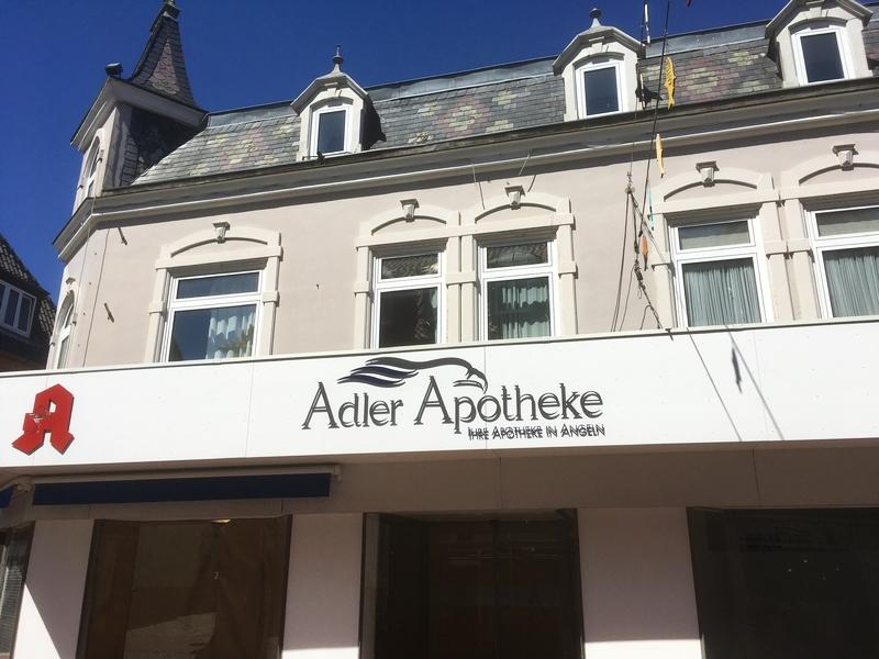 Kappeln - Adler-Apotheke - Foto: Runa Borkenstein (08.06.2021)