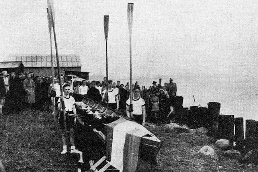 SRV - Taufe des C-Vierers 1955