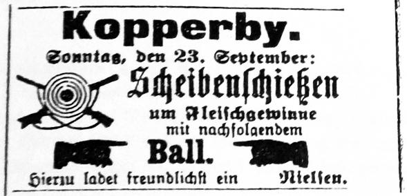 Schhlei-Bote - Anzeige vom 19.09.1906