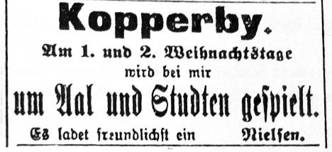 Schhlei-Bote - Anzeige vom 24.12.1906