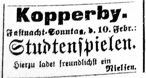 Schhlei-Bote - Anzeige vom 10.02.1907