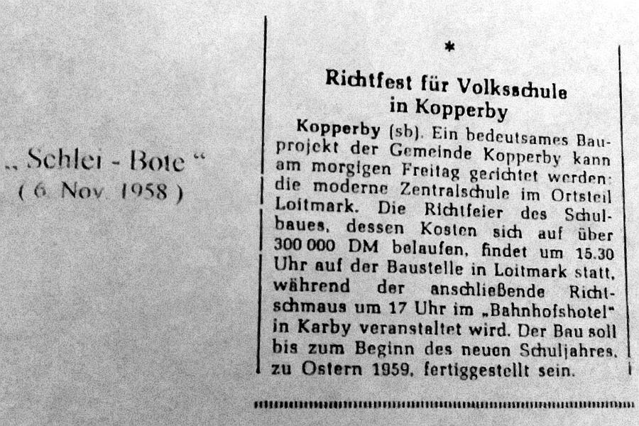 Schlei-Bote vom 06.11.1958