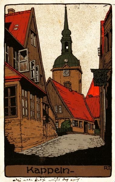 Poststraße/Kehrwieder (1911)
